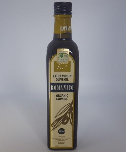 ロマニコ オーガニック エキストラバージン オリーブオイル 500ml